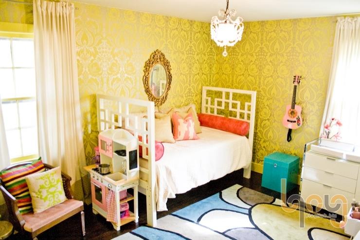 Trang trí phòng từ giấy dán tường