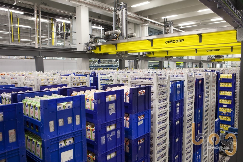 Các hệ thống kệ lưu trữ hàng hóa