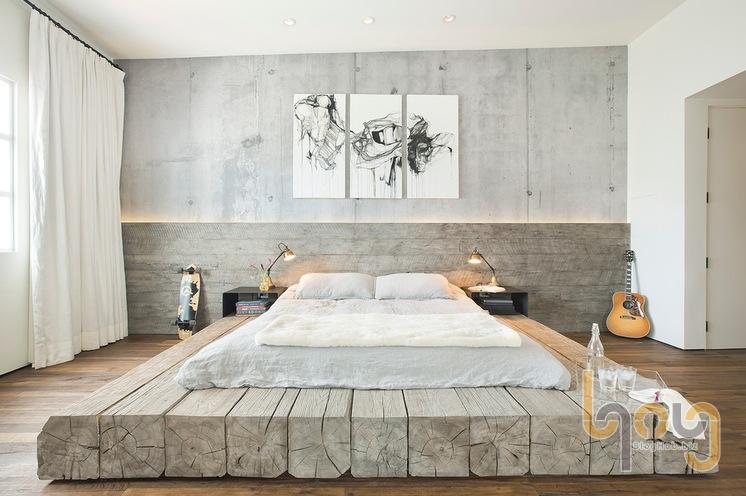 Giấy dán tường phòng ngủ