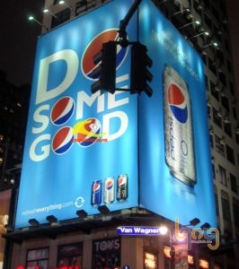 Bảng quảng cáo hộp đèn ngoài trời