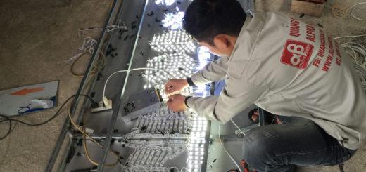 Cần phải ngắt điện khi tiến hành lắp đặt, thay thế đèn led
