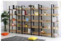 Thiết kế giá kệ để sách trong gia đình hợp phong thuỷ