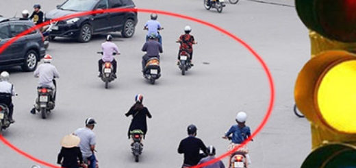 Tình trạng đi sai đường nếu không có tín hiệu đèn giao thông