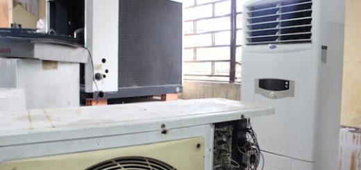 Kiểm tra dàn lạnh máy lạnh tủ đứng khi có hiện tượng chảy nước