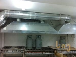 Ống dẫn khí thải của quạt hút mùi bếp