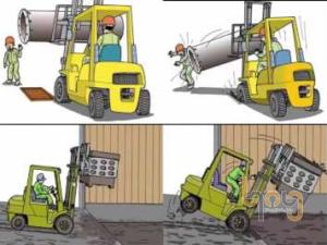 Sử dụng xe thang, xe nâng đảm bảo an toàn lao động