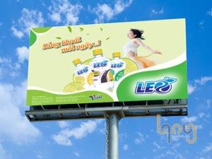 Câu slogan của nước giải khát LEO