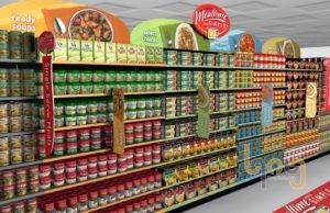 Lựa chọn và bày trí các sản phẩm theo các quy tắc