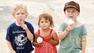 Đồ ăn lạnh tạo cảm gíac ngon miệng cho trẻ