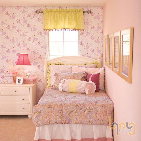 Bí quyết lựa chọn giấy dán tường cho phòng ngủ nhỏ