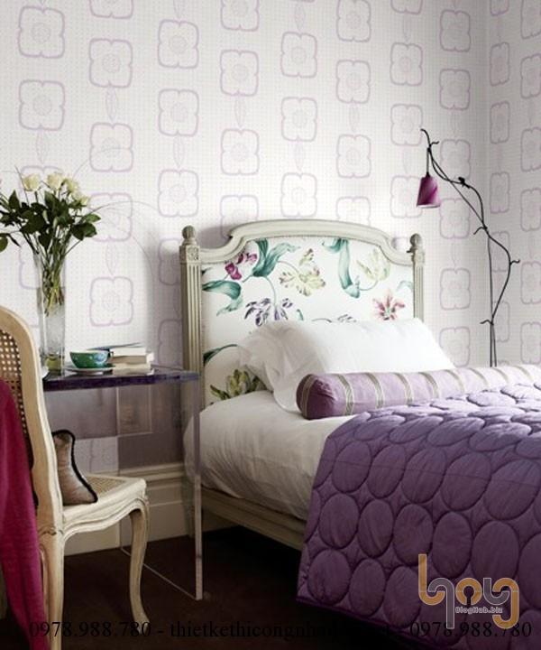 Lưu ý khi lựa chọn giấy dán tường phòng ngủ
