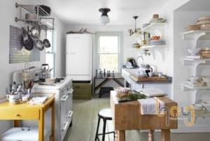 Giá kệ nhà bếp tăng tăng diện tích không gian