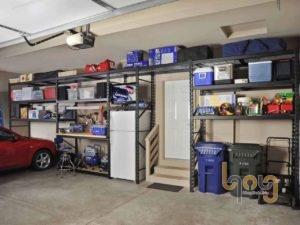 Giá kệ sắt lắp ráp để đồ dùng trong nhà xe