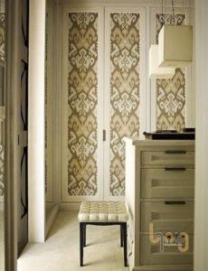 Giấy dán tường trang trí cửa phòng