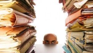 Kệ hồ sơ giúp quản lý tài liệu ngăn nắp