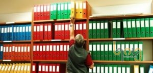 Quản lý hồ sơ khoa học trên kệ lưu trữ