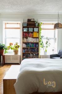 Trồng cây xanh trong phòng ngủ