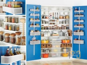 Tủ kệ nhà bếp đa năng lắp ráp
