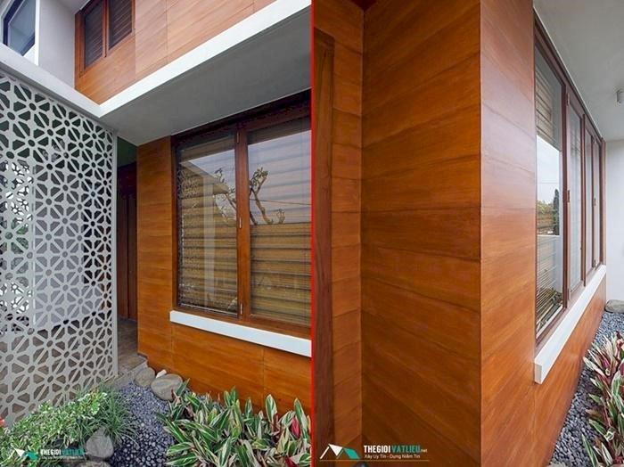Tấm ốp tường vân gỗ - sự lựa chọn tuyệt vời của những công trình hiện đại