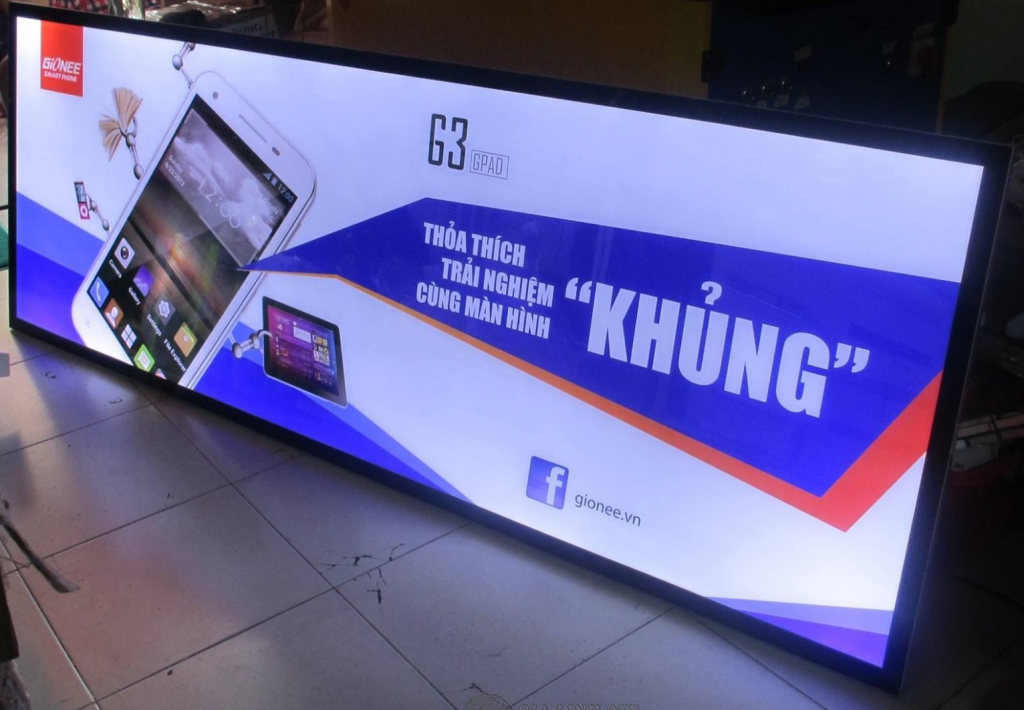 Hộp đèn 3M, loại bảng quảng cáo có nhiều ưu điểm nhất hiện nay